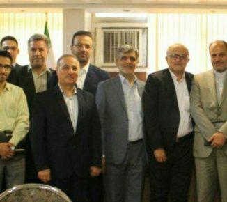نشست مشترک اتاق بازرگانی انرژی ایران و اندنزوی